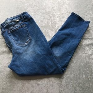 Maurice's Distressed skinny blue jeans size 20